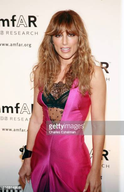Actress Jennifer Esposito attends the 10th annual amfAR New York Gala on January 31 2008 at the 42nd Street Cipriani in New York City