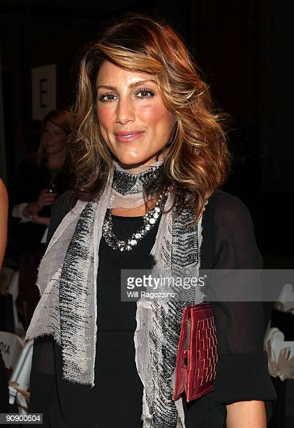 Actress Jennifer Esposito attends the Ann Taylor See Now Wear Now runway show at The New York Public Library on September 17 2009 in New York City