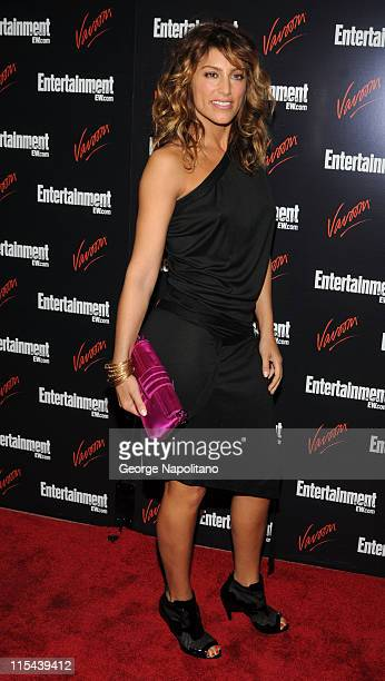Actress Jennifer Esposito attends the Entertainment Weekly Vavoom Annual Upfront Party at the Bowery Hotel on May 13 2008 in New York City
