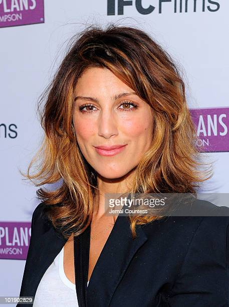 Actress Jennifer Esposito poses for a photo at the premiere of Change Of Plans at the IFC Center on June 8 2010 in New York City
