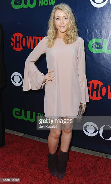 Actress Jennifer Finnigan arrives at CBS CW And Showtime 2015 Summer TCA Party at Pacific Design Center on August 10 2015 in West Hollywood California