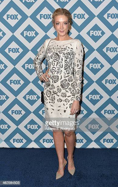 Actress Jennifer Finnigan arrives to the 2014 Fox AllStar Party at the Langham Hotel on January 13 2014 in Pasadena California