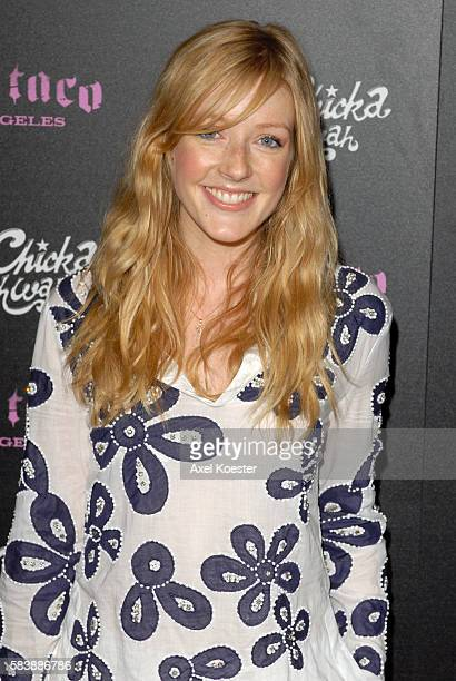 Actress Jennifer Finnigan arrives to the opening of Harry Morton's Pink Taco restaurant in the Westfield Century City Mall