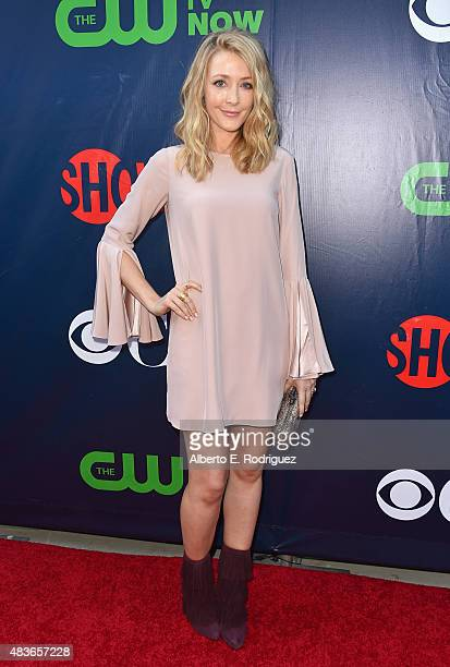 Actress Jennifer Finnigan attends CBS' 2015 Summer TCA party at the Pacific Design Center on August 10 2015 in West Hollywood California