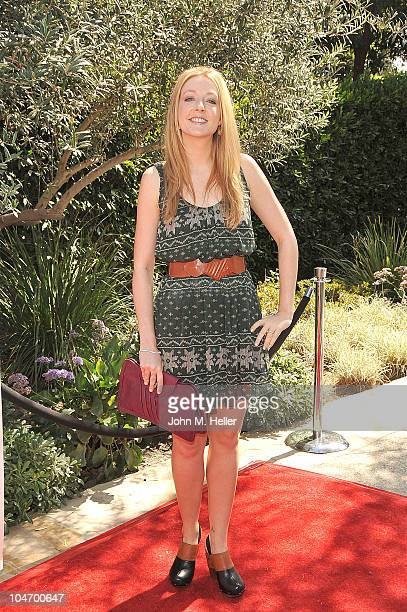 Actress Jennifer Finnigan attends the 13th Annual Lili Claire Foundation Garden Party Benefit Luncheon at a private residence on October 3 2010 in...