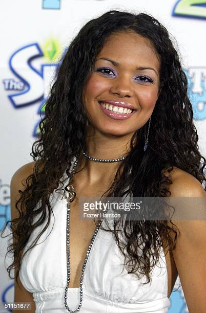 Actress Jennifer Freeman arrives at the 1st Annual Teen People 'Young Hollywood' Issue party held on August 7 2004 at the Teen People mansion in the...
