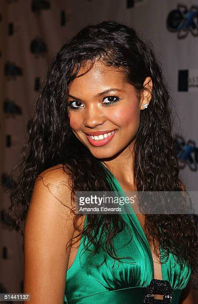 Actress Jennifer Freeman arrives at the party celebrating the 11th Season of 'Extra' on October 7 2004 at The Lounge @ Astra at the Pacific Design...