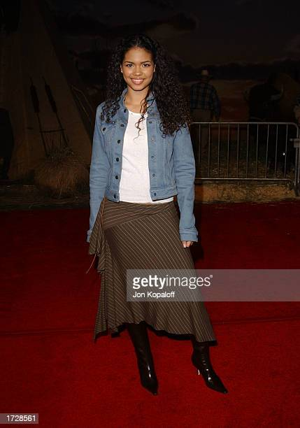 Actress Jennifer Freeman attends 'The ABC AllStar Party' to celebrate the networks midseason television shows at Quixote Studios on January 15 2003...