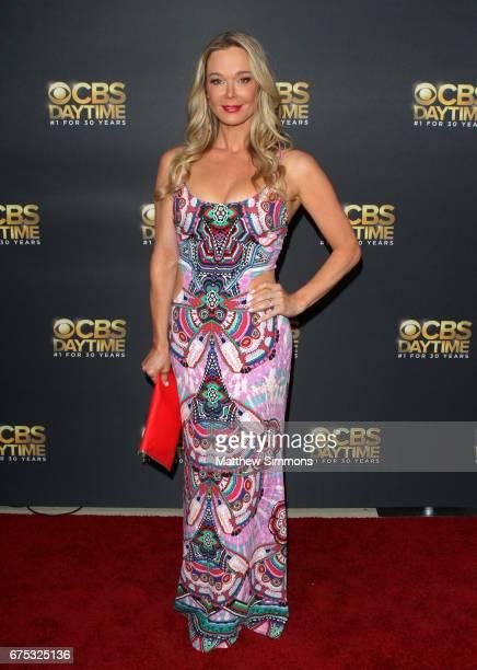 Actress Jennifer Gareis attends the CBS Daytime Emmy after party at Pasadena Civic Auditorium on April 30 2017 in Pasadena California