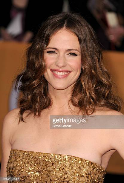 Actress Jennifer Garner arrives at the 19th Annual Screen Actors Guild Awards held at The Shrine Auditorium on January 27 2013 in Los Angeles...