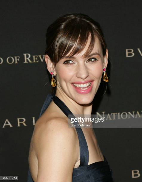 Actress Jennifer Garner arrives at the 2007 National Board of Review of Motion Pictures Awards Gala at Cipriani's 42nd Street on January 15 2008 in...