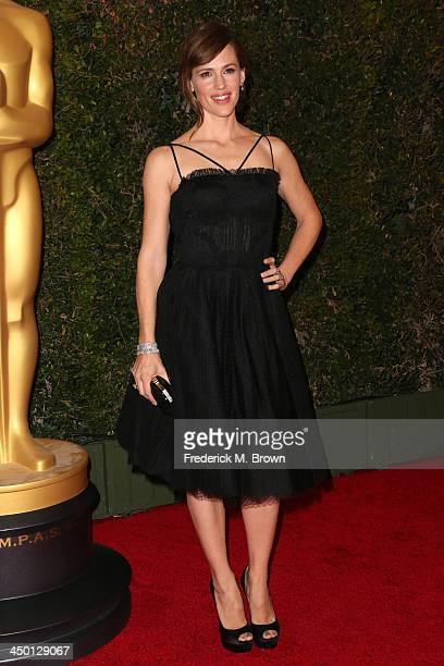 Actress Jennifer Garner arrives at the Academy of Motion Picture Arts and Sciences' Governors Awards at The Ray Dolby Ballroom at Hollywood Highland...