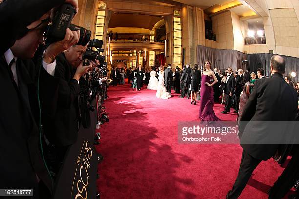 Actress Jennifer Garner arrives at the Oscars held at Hollywood Highland Center on February 24 2013 in Hollywood California