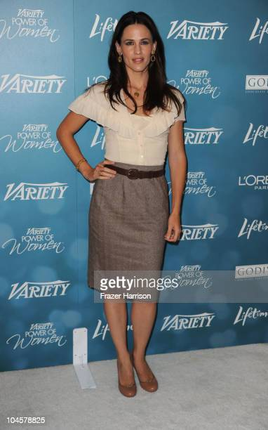 Actress Jennifer Garner arrives at the Variety's 2nd Annual Power Of Women Luncheon at the Beverly Hills Hotel on September 30 2010 in Beverly Hills...
