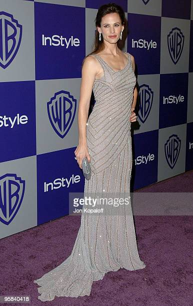 Actress Jennifer Garner arrives at the Warner Brothers/InStyle Golden Globes After Party at The Beverly Hilton Hotel on January 17 2010 in Beverly...