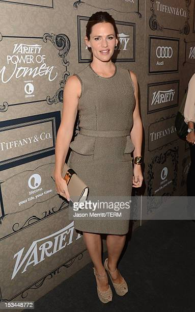 Actress Jennifer Garner arrives at Variety's 4th Annual Power of Women Event Presented by Lifetimeat the Beverly Wilshire Four Seasons Hotel on...