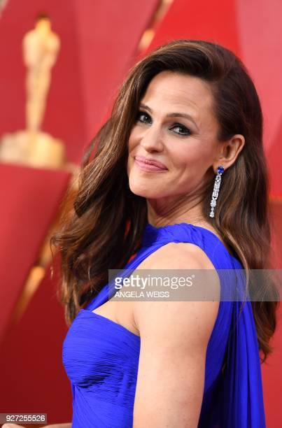 US actress Jennifer Garner arrives for the 90th Annual Academy Awards on March 4 in Hollywood California / AFP PHOTO / ANGELA WEISS