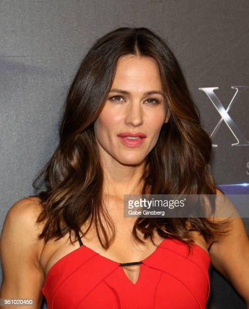 Actress Jennifer Garner attends CinemaCon 2018 STXfilms Invites You to an Evening Featuring A Sneak Preview of Their Feature Films at The Colosseum...