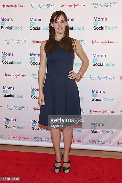 Actress Jennifer Garner attends MomsSocial Good Global Moms' Challenge at Times Center on May 1 2015 in New York City