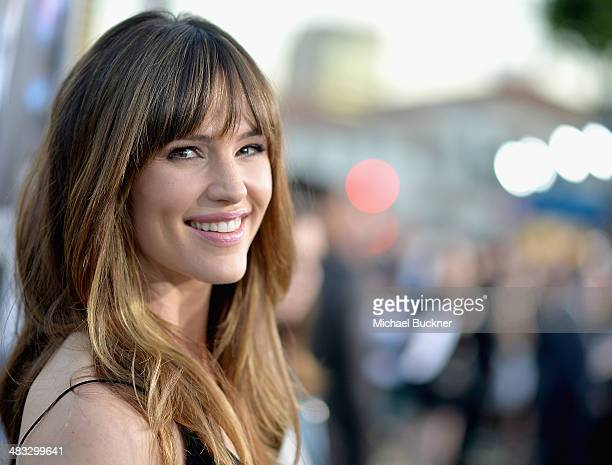 Actress Jennifer Garner attends Premiere Of Summit Entertainment's Draft Day at Regency Bruin Theatre on April 7 2014 in Los Angeles California