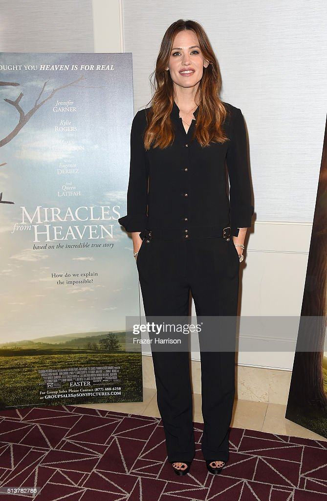 "Sony Pictures Releasing's ""Miracles From Heaven"" Photo Call"