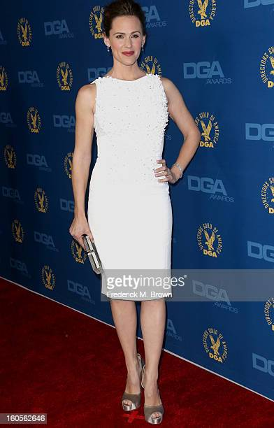 Actress Jennifer Garner attends the 65th Annual Directors Guild Of America Awards at Ray Dolby Ballroom at Hollywood Highland on February 2 2013 in...