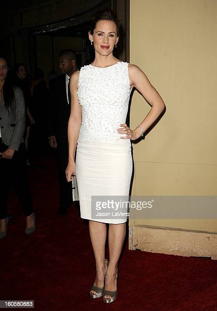 Actress Jennifer Garner attends the 65th annual Directors Guild Of America Awards at The Ray Dolby Ballroom at Hollywood Highland Center on February...