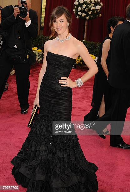 Actress Jennifer Garner attends the 80th Annual Academy Awards at the Kodak Theatre on February 24 2008 in Los Angeles California