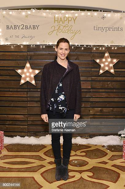 Actress Jennifer Garner attends the Baby2Baby Holiday Party Presented By Tiny Prints At Montage Beverly Hills on December 6 2015 in Beverly Hills...