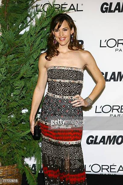 Actress Jennifer Garner attends the Glamour Women Of The Year Awards at Lincoln Center's Avery Fisher Hall on November 5, 2007 in New York City.