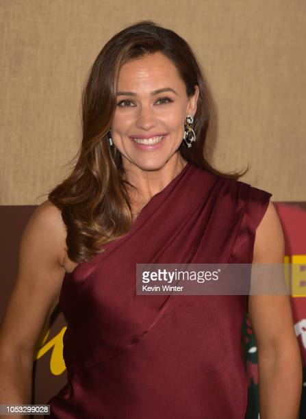 Actress Jennifer Garner attends the Los Angeles premiere of the HBO series Camping at Paramount Studios on October 10 2018 in Hollywood California