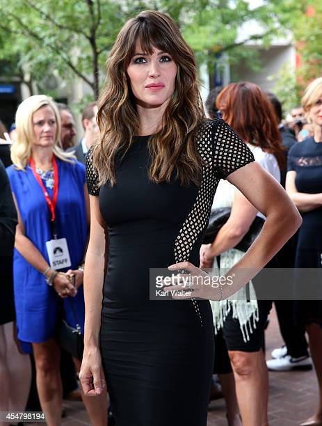 Actress Jennifer Garner attends the Men Women Children Premiere during the 2014 Toronto International Film Festival at Ryerson Theatre on September 6...
