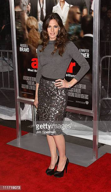 Actress Jennifer Garner attends the New York premiere of 'Arthur' at the Ziegfeld Theatre on April 5 2011 in New York City