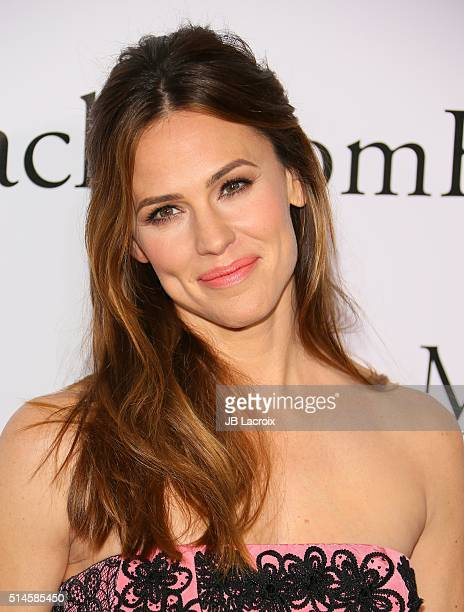 Actress Jennifer Garner attends the premiere of Columbia Pictures' 'Miracles From Heaven' on March 9 2016 in Hollywood California