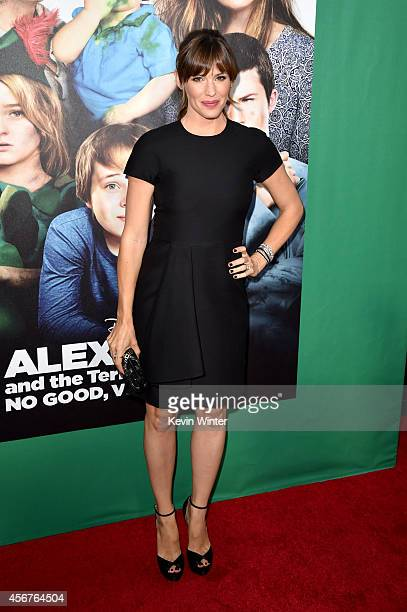 Actress Jennifer Garner attends the premiere of Disney's Alexander and the Terrible Horrible No Good Very Bad Day at the El Capitan Theatre on...