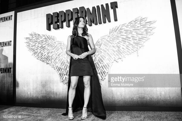 Actress Jennifer Garner attends the premiere of STX Entertainment's Peppermint on August 28 2018 in Los Angeles California