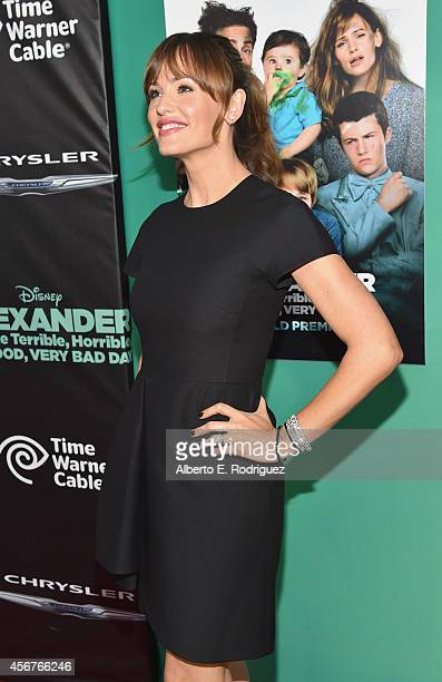 Actress Jennifer Garner attends The World Premiere of Disney's Alexander and the Terrible Horrible No Good Very Bad Day at the El Capitan Theatre on...