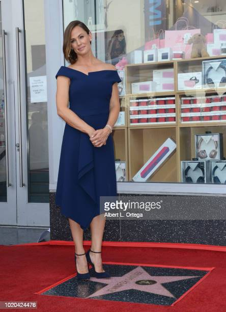 Actress Jennifer Garner Honored With Star On The Hollywood Walk Of Fame held on August 20 2018 in Hollywood California