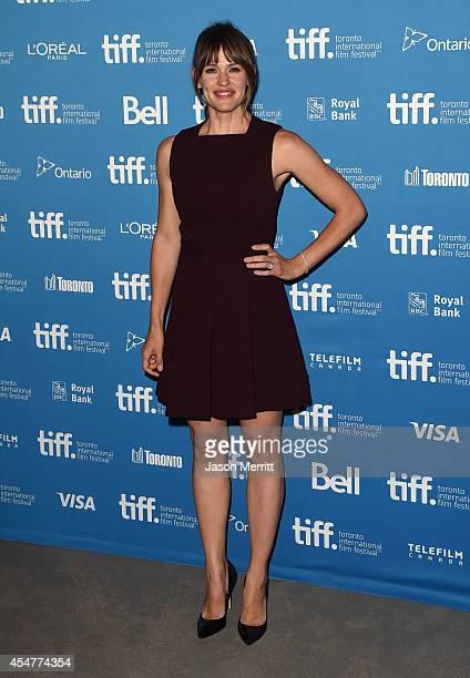 Actress Jennifer Garner of Men Women and Children poses at Men Women and Children Press Conference during the 2014 Toronto International Film...