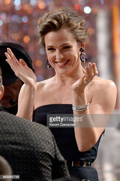 Actress Jennifer Garner onstage during the 20th Annual Screen Actors Guild Awards at The Shrine Auditorium on January 18 2014 in Los Angeles...