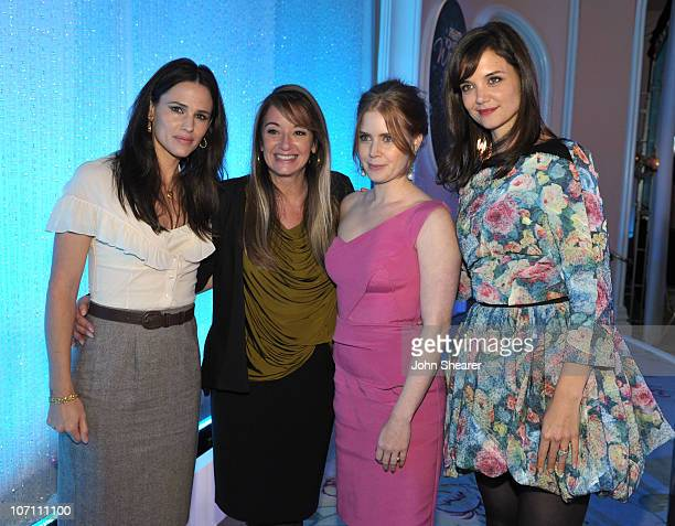 Actress Jennifer Garner producer Suzan Bymel actress Amy Adams and actress Katie Holmes attend Variety's 2nd Annual Power Of Women Luncheon at the...