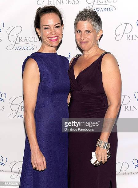 Actress Jennifer Grant and artist Wendy Levy attend the 2013 Princess Grace Awards Gala at Cipriani 42nd Street on October 30 2013 in New York City
