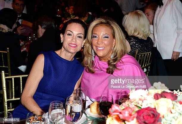 Actress Jennifer Grant and President and Cofounder of Gabrielle's Angel Foundation Denise Rich attend the 2013 Princess Grace Awards Gala at Cipriani...