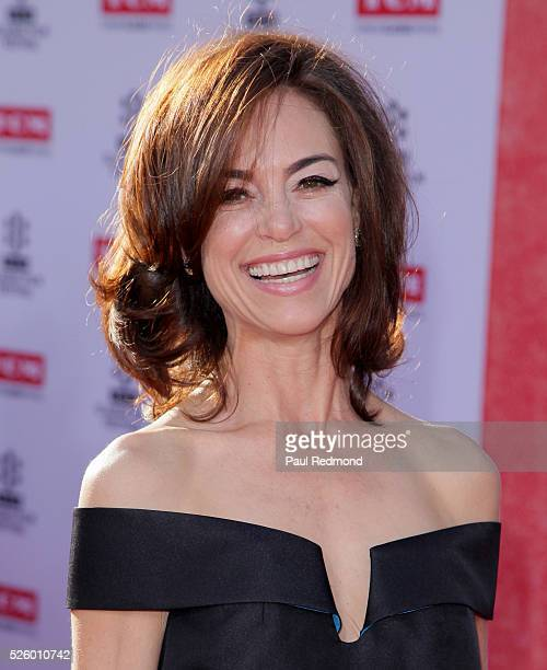 Actress Jennifer Grant arriving at the TCM Classic Film Festival 2016 Opening Night Gala 40th Anniversary Screening Of All The President's Men at TCL...