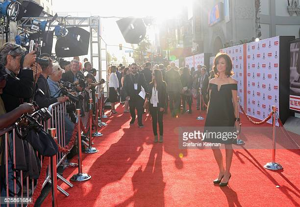 Actress Jennifer Grant attends 'All The President's Men' premiere during the TCM Classic Film Festival 2016 Opening Night on April 28 2016 in Los...