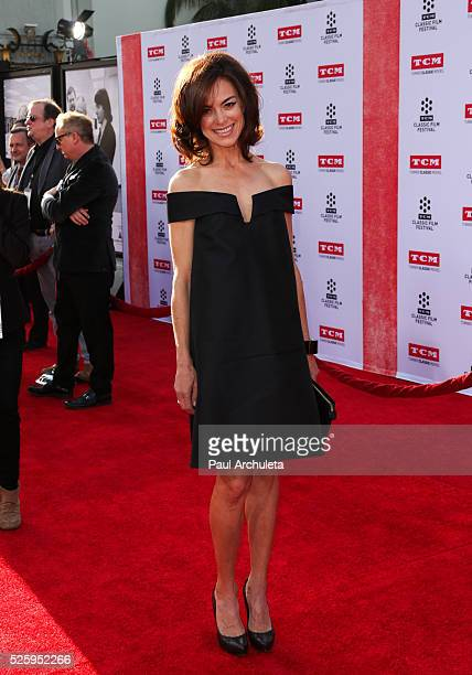 Actress Jennifer Grant attends the 2016 TCM Classic Film Festival opening night gala at The TCL Chinese Theatre IMAX on April 28 2016 in Hollywood...