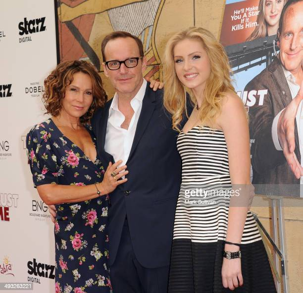 Actress Jennifer Grey actor/director Clark Gregg and actress Saxon Sharbino arrive at the Los Angeles premiere of 'Trust Me' at the Egyptian Theatre...