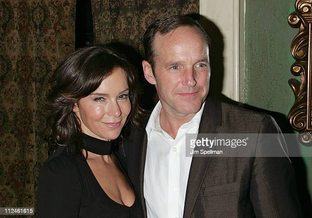 Actress Jennifer Grey and Director/Actor Clark Gregg attends the after party for Choke at the Sunshine Cinema on September 24 2008 in New York City
