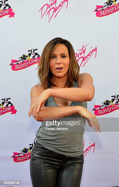 Actress Jennifer Grey arrives at the 25th Anniversary Of Lionsgate's Dirty Dancing screening at Grauman's Chinese Theatre on August 21 2012 in...