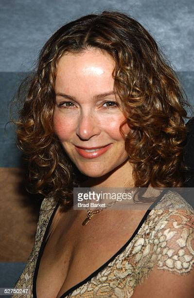 Actress Jennifer Grey arrives at The Atlantic Theater Company's 2005 Spring Gala at the Rainbow Room on May 2 2005 in New York City